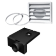 5'Ø FRESH AIR INTAKE KIT FOR WOOD STOVE ON LEGS