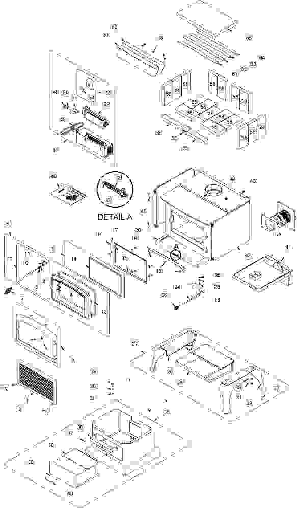 Wood Fireplace Parts Diagram